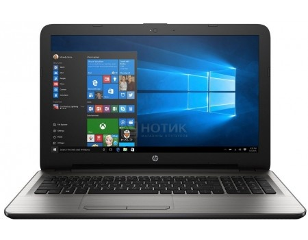 Ноутбук HP 15-ay500ur (15.6 LED/ Pentium Quad Core N3710 1600MHz/ 4096Mb/ HDD 500Gb/ AMD Radeon R5 M430 2048Mb) MS Windows 10 Home (64-bit) [Y5K68EA]