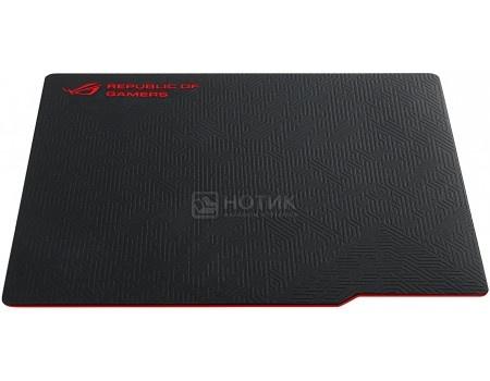 Фотография товара коврик для мыши ASUS ROG Whetstone, Черный/Красный 90MP00C1-B0UA00 (49265)