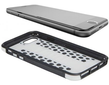 Чехол-накладка Thule Atmos X3 для iPhone 7 TAIE-3126 WHITE/DARK SHADOW, Поликарбонат, Черный/Белый
