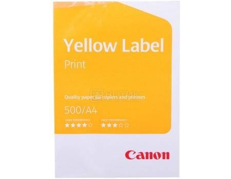 Бумага Canon Yellow Label Print А4 80г, 500 листов 21x29.7 см, Белый 6821B001
