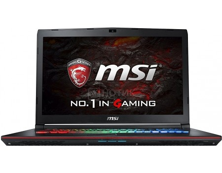 Ноутбук MSI GE72 7RE-213RU Apache Pro (17.3 LED/ Core i7 7700HQ 2800MHz/ 8192Mb/ HDD 1000Gb/ NVIDIA GeForce® GTX 1050Ti 4096Mb) MS Windows 10 Home (64-bit) [9S7-179941-213]