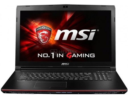 Ноутбук MSI GP72 7RD-215RU Leopard (17.3 LED/ Core i7 7700HQ 2800MHz/ 8192Mb/ HDD 1000Gb/ NVIDIA GeForce® GTX 1050 2048Mb) MS Windows 10 Home (64-bit) [9S7-179993-215]