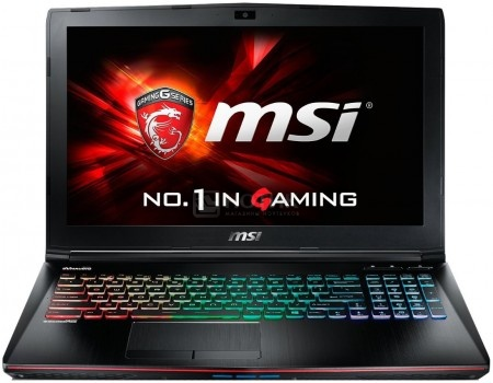 Ноутбук MSI GE62 7RE-294RU Apache Pro (15.6 LED (с широкими углами обзора IPS - level)/ Core i7 7700HQ 2800MHz/ 8192Mb/ HDD 1000Gb/ NVIDIA GeForce® GTX 1050Ti 4096Mb) MS Windows 10 Home (64-bit) [9S7-16J932-294]