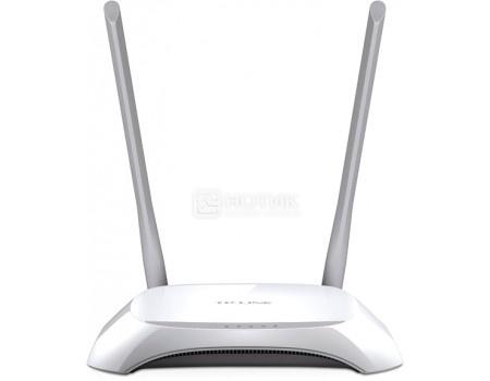 Маршрутизатор TP-Link TL-WR840N, 1xWAN,4xLAN 10/100/Мбит/с 802.11b/g/n до 300 Мбит/с, БелыйTP-Link<br>Маршрутизатор TP-Link TL-WR840N, 1xWAN,4xLAN 10/100/Мбит/с 802.11b/g/n до 300 Мбит/с, Белый<br>