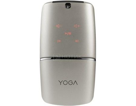 Фотография товара мышь беспроводная Lenovo Yoga Mouse, 1600dpi Серебристый GX30K69566 (49303)