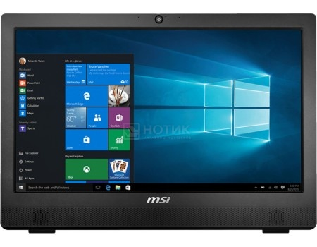 Моноблок MSI Pro 24 4BW-014RU (23.6 LED/ Pentium Quad Core N3710 1600MHz/ 4096Mb/ HDD 1000Gb/ Intel HD Graphics 405 64Mb) MS Windows 10 Home (64-bit) [9S6-AE9211-014]