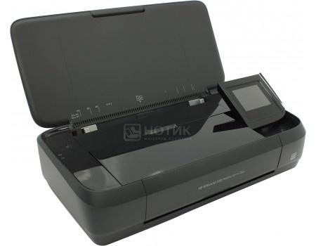 МФУ струйный цветной HP Officejet 252 Mobile Printer, A4, 10/7 стр./мин, 256Мб, USB, BT, WiFi, 1050мАч Черный N4L16C фото