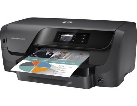 Принтер струйный цветной HP Officejet Pro 8210, A4,34/34 стр./мин, 256Мб, USB, LAN, Wi-Fi, Черный D9L63A
