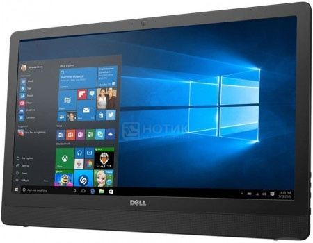 Моноблок Dell Inspiron 3464 (23.8 IPS (LED)/ Core i3 7100U 2400MHz/ 4096Mb/ HDD 1000Gb/ Intel HD Graphics 620 64Mb) MS Windows 10 Home (64-bit) [3464-9913]