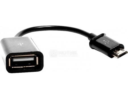 OTG кабель iQFuture для смартфонов с разъемом microUSB IQ-SDC01-OEM, Черный