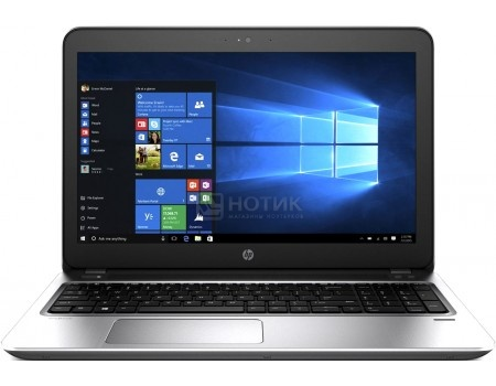Ноутбук HP Probook 455 G4 (15.6 LED/ A6-Series A6-9210 2400MHz/ 4096Mb/ SSD 128Gb/ AMD Radeon R4 series 64Mb) Free DOS [Y8B11EA]