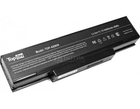 Аккумулятор TopON TOP-ASB09 для ASUS Z53, S62, A9, F2, F3, M51, Lg E500 Series аккумулятор для 11.1V 4400mAh PN: 925C2290F, A32-F2