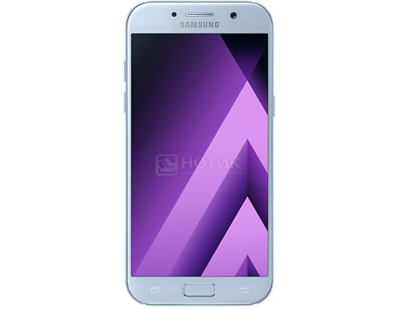 "Смартфон Samsung Galaxy A5 2017 SM-A520F Blue (Android 6.0 (Marshmallow)/7880 1900MHz/5.2"" 1920x1080/3072Mb/32Gb/4G LTE ) [SM-A520FZBDSER]"