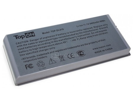 Аккумулятор TopON TOP-DL810 для Dell Latitude D810 Precision M70 аккумулятор 11.1V 4400mAh PN: C5331 F5608 G5226  Y4367TopON<br>Аккумулятор TopON TOP-DL810 для Dell Latitude D810 Precision M70 аккумулятор 11.1V 4400mAh PN: C5331 F5608 G5226  Y4367<br>