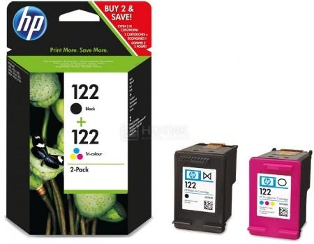 Картридж струйный HP 122 для HP DJ 1050/2050/2050s Набор картриджей черный/трехцветный CR340HE