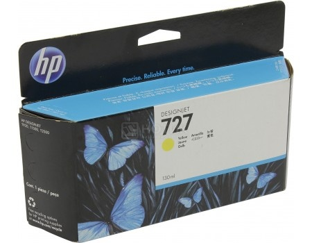 Картридж струйный HP 727 B3P21A для HP DJ T920/T1500 Жёлтый B3P21A