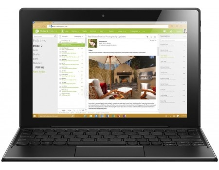 Планшет Lenovo Miix 310-10 (MS Windows 10 Home (64-bit)/Z8350 1440MHz/10.1