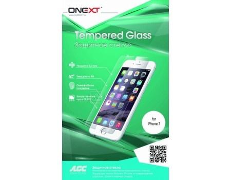 Фотография товара защитное стекло ONEXT для смартфона Apple iPhone 7 с рамкой, Черный 41216 (49635)