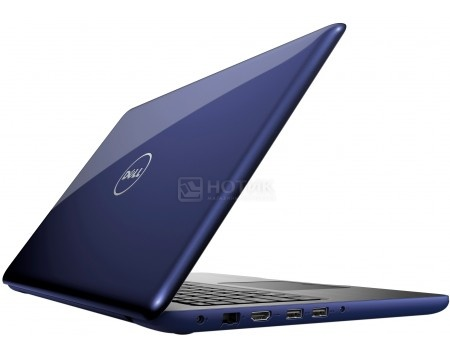 Фотография товара ноутбук Dell Inspiron 5567 (15.6 TN (LED)/ Core i5 7200U 2500MHz/ 8192Mb/ HDD 1000Gb/ AMD Radeon R7 M445 4096Mb) MS Windows 10 Home (64-bit) [5567-3539] (49648)