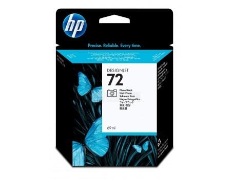 Картридж струйный HP 72 C9397A для HP DJ T1100/T610 Фото чёрный C9397A