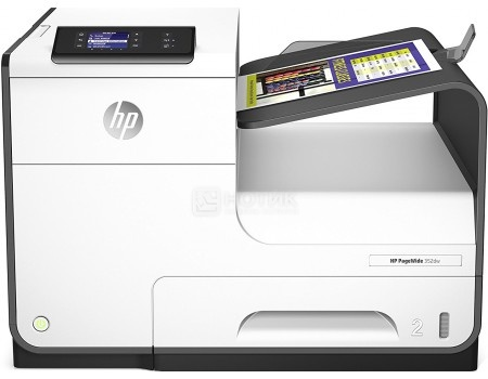 Принтер струйный цветной HP PageWide 352dw J6U57B A4 Duplex Net WiFi USB RJ-45 белый/черный J6U57B