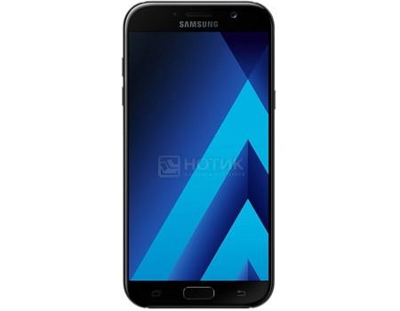 Смартфон Samsung Galaxy A3 2017 SM-A320F Black (Android 6.0 (Marshmallow)/7870 1600MHz/4.7* 1280x720/2048Mb/16Gb/4G LTE ) [SM-A320FZKDSER], арт: 49727 - Samsung