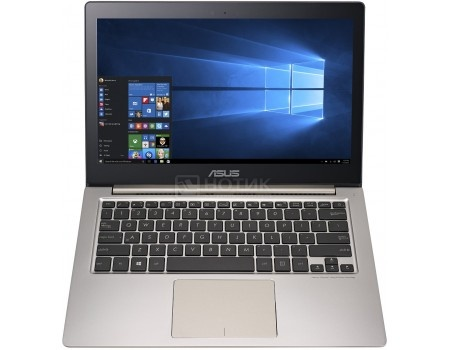 Ультрабук ASUS Zenbook UX303UA-R4395T (13.3 IPS (LED)/ Core i3 6100U 2300MHz/ 8192Mb/ SSD 128Gb/ Intel HD Graphics 520 64Mb) MS Windows 10 Home (64-bit) [90NB08V1-M06620]