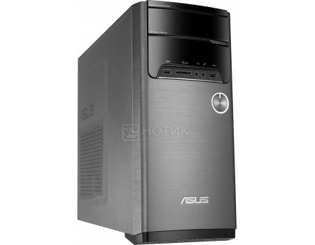 Системный блок ASUS VivoPC M32CD-RU052T (0.0 / Core i3 6100 3700MHz/ 4096Mb/ HDD 1000Gb/ NVIDIA GeForce GT 740M 4096Mb) MS Windows 10 Home (64-bit) [90PD01J8-M18170]
