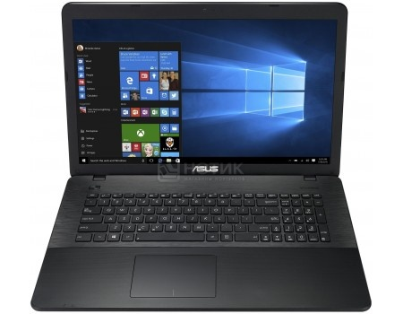 Ноутбук ASUS X751LX-T4161T (17.3 LED/ Core i5 5200U 2200MHz/ 4096Mb/ HDD 1000Gb/ NVIDIA GeForce® GTX 950M 2048Mb) MS Windows 10 Home (64-bit) [90NB08E1-M02580]