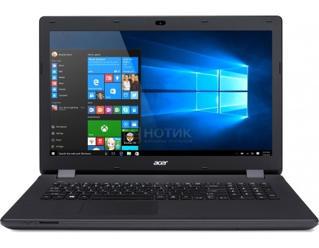 Ноутбук Acer Aspire ES1-731-C50Q (17.3 LED/ Celeron Dual Core N3050 1600MHz/ 4096Mb/ HDD 500Gb/ Intel HD Graphics 64Mb) MS Windows 10 Home (64-bit) [NX.MZSER.032]
