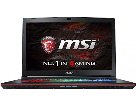 Ноутбук MSI GE72 7RE-258RU Apache Pro (17.3 LED/ Core i7 7700HQ 2800MHz/ 16384Mb/ HDD 1000Gb/ NVIDIA GeForce® GTX 1050Ti 4096Mb) MS Windows 10 Home (64-bit) [9S7-179941-258]