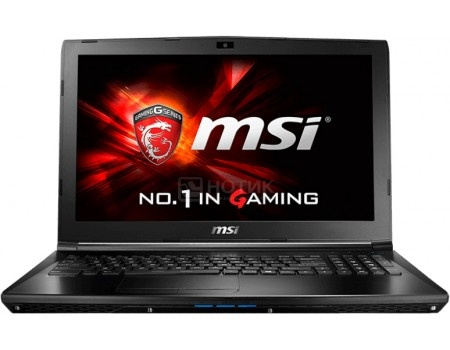 Ноутбук MSI GL62 6QE-1699XRU (15.6 LED/ Core i5 6300HQ 2300MHz/ 8192Mb/ HDD 1000Gb/ NVIDIA GeForce® GTX 950M 2048Mb) Free DOS [9S7-16J562-1699]