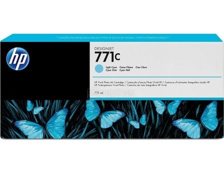 Картридж струйный HP 771C B6Y12A для HP DJ Z6200 Cветло-голубой B6Y12A (775мл)HP<br>Картридж струйный HP 771C B6Y12A для HP DJ Z6200 Cветло-голубой B6Y12A (775мл)<br>