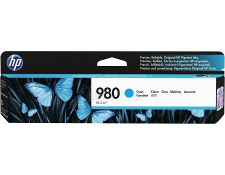 Картридж струйный HP D8J07A для HP OJ Ent X585 X555 Голубой D8J07A (6600стр)
