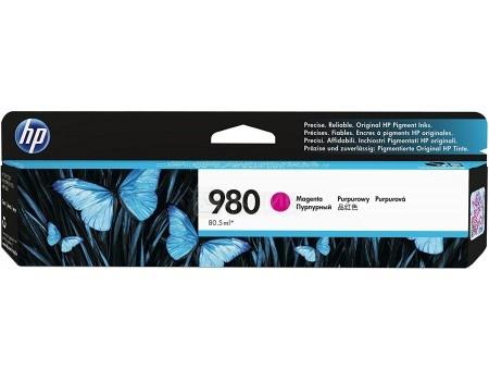 Картридж струйный HP D8J08A для HP OJ Ent X585 X555 Пурпурный D8J08A (6600стр)