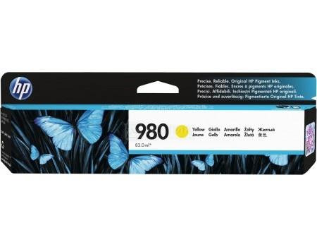 Картридж струйный HP D8J09A для HP OJ Ent X585 X555 Желтый D8J09A (6600стр)