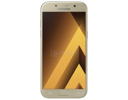 Смартфон Samsung Galaxy A7 2017 SM-A720F Gold (Android 6.0 (Marshmallow)/7880 1900MHz/5.7