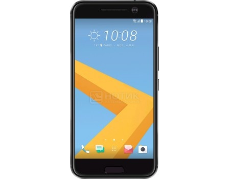 Смартфон HTC 10 Carbon Gray (Android 6.0 (Marshmallow)/MSM8996 2150MHz/5.2