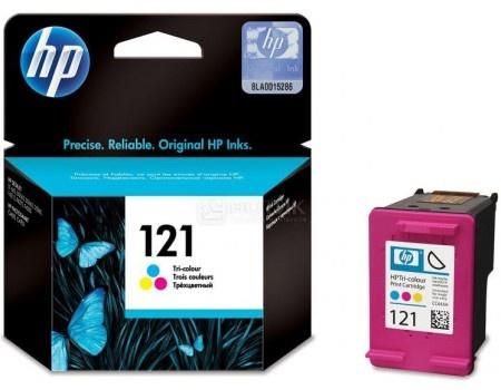 Картридж струйный HP 121 CC643HE для HP F4283/D2563 Многоцветный CC643HE (165стр)