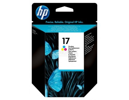 Картридж струйный HP 17 C6625A для HP DJ 840C Многоцветный C6625A (480стр)