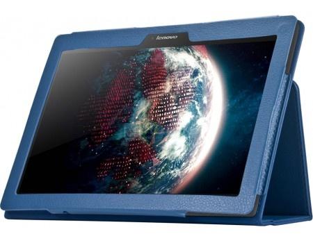 """Чехол-подставка IT Baggage для планшета Lenovo IdeaTab 3 TB3-X70L TB3-X70F 10"""" Искусственная кожа, Синий ITLN3A102-4"""