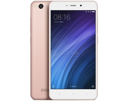 "Смартфон Xiaomi Redmi 4A Rose Gold (Android 6.0 (Marshmallow)/MSM8917 1400MHz/5.0"" 1280x720/2048Mb/16Gb/4G LTE  ) [6954176830302] от Нотик"