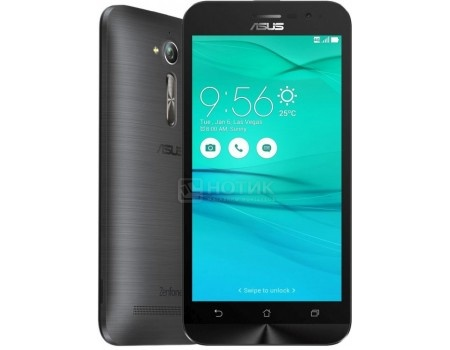 Смартфон ASUS Zenfone Go ZB500KL-3H053RU Silver Blue (Android 6.0 (Marshmallow)/MSM8916 1200MHz/5.0 (1280x720)/2048Mb/16Gb/4G LTE 3G (EDGE, HSDPA, HSPA+)) [90AX00A9-M00760]