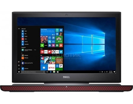 Ноутбук Dell Inspiron 7567 (15.6 LED/ Core i5 7300HQ 2500MHz/ 8192Mb/ Hybrid Drive 1000Gb/ NVIDIA GeForce® GTX 1050 4096Mb) MS Windows 10 Home (64-bit) [7567-9309]