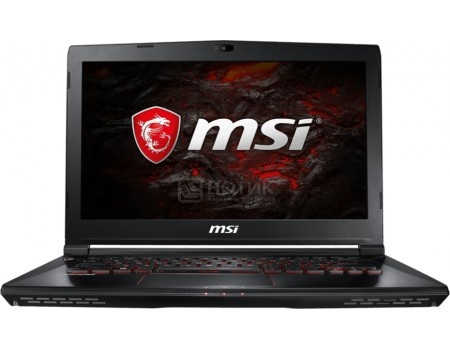 Ноутбук MSI GS43VR 7RE-094RU Phantom Pro (14.0 LED (IPS - level)/ Core i5 7300HQ 2500MHz/ 16384Mb/ HDD+SSD 1000Gb/ NVIDIA GeForce® GTX 1060 6144Mb) MS Windows 10 Home (64-bit) [9S7-14A332-094]