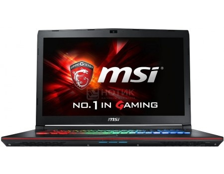 Ноутбук MSI GE72VR 7RF-439RU Apache Pro (17.3 LED/ Core i7 7700HQ 2800MHz/ 16384Mb/ HDD 1000Gb/ NVIDIA GeForce® GTX 1060 3072Mb) MS Windows 10 Home (64-bit) [9S7-179B11-439]