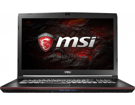 Ноутбук MSI GP72VR 7RF-444RU Leopard Pro (17.3 LED/ Core i7 7700HQ 2800MHz/ 16384Mb/ HDD+SSD 1000Gb/ NVIDIA GeForce® GTX 1060 3072Mb) MS Windows 10 Home (64-bit) [9S7-179B93-444]
