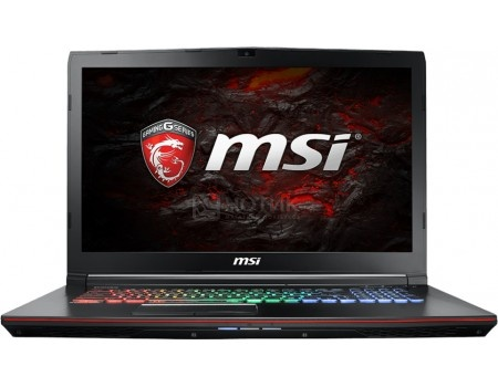 Ноутбук MSI GE72MVR 7RG-016XRU Apache Pro (17.3 LED/ Core i7 7700HQ 2800MHz/ 16384Mb/ HDD 1000Gb/ NVIDIA GeForce® GTX 1070 8192Mb) Free DOS [9S7-179C11-016]