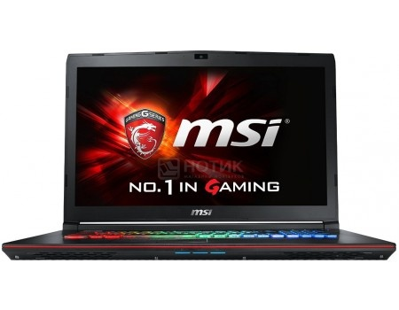 Ноутбук MSI GE72 6QF-229RU Apache Pro (17.3 LED (с широкими углами обзора IPS - level)/ Core i7 6700HQ 2600MHz/ 8192Mb/ HDD+SSD 1000Gb/ NVIDIA GeForce® GTX 970M 3072Mb) MS Windows 10 Home (64-bit) [9S7-179441-229]