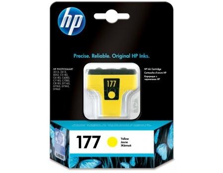 Картридж струйный HP 177 C8773HE для HP 3313/C5183/C6183/C7183/D7163/8253 Желтый C8773HE (500стр)
